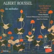 Albert Roussel (1869-1937): Sämtliche Lieder, 2 CDs