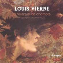 Louis Vierne (1870-1937): Sonate für Violine & Klavier op.23, 2 CDs