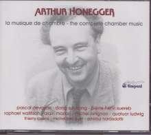 Arthur Honegger (1892-1955): Kammermusik (Gesamtaufnahme), 4 CDs