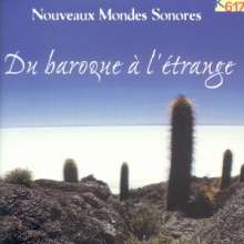 "K617-Sampler ""Du Baroque a l'Etrange"", CD"