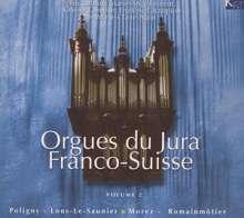Orgues du Jura Franco-Suisse Vol.2, 3 CDs