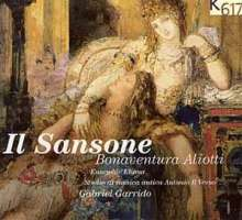 """Bonaventura Aliotti (1640-1690): Oratorium """"Il Sansone"""", CD"""