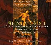 Giovanni Battista Pergolesi (1710-1736): Missa a 5 Voci, CD