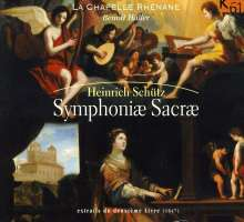 Heinrich Schütz (1585-1672): Symphoniae sacrae II SWV 342,343,350,352-356,365-367, CD
