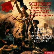 Etienne-Nicolas Mehul (1763-1817): Symphonie Nr.1, CD