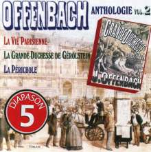 Jacques Offenbach (1819-1880): Jacques Offenbach Anthologie Vol.2, CD