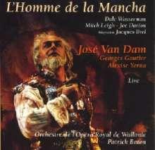 Mitch Leigh (geb. 1928): Man of La Mancha (Musical in der Adaption v.J.Brel), CD