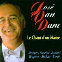 Jose van Dam - Le Chant d'un Maitre, CD