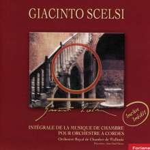 Giacinto Scelsi (1905-1988): Kammermusik für Streicher, CD