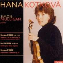 George Enescu (1881-1955): Impressions d'Enfance für Violine & Klavier, CD