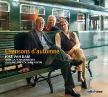 Jose van Dam - Chansons d'automnes, CD
