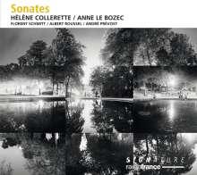 Helene Collerette & Anne Le Bozec - Sonates, CD