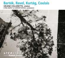 Helene Collerette - Bartok / Ravel / Kurtag / Coulais, CD