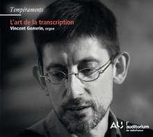 Vincent Genvrin - L'art de la transcription, CD