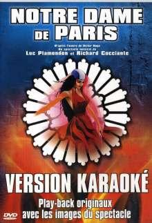 Karaoke & Playback: Notre Dame De Paris, DVD