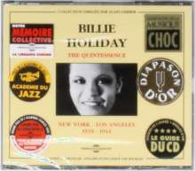 Billie Holiday (1915-1959): The Quintessence, 2 CDs