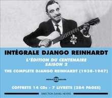 Django Reinhardt (1910-1953): Integrale Saison 2 (Box-Set), 14 CDs