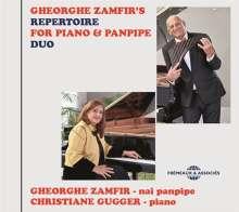 Gheorge Zamfir & Christiane Gugger: Gheorghe Zamfir's Repertoire For Piano & Panpipe Duo, CD