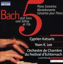 Cyprien Katsaris  - Bach und Söhne, CD