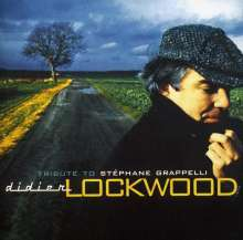 Didier Lockwood (1956-2018): Tribute To Stephane Grappelli, CD