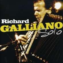 Richard Galliano (geb. 1950): Solo Live, CD