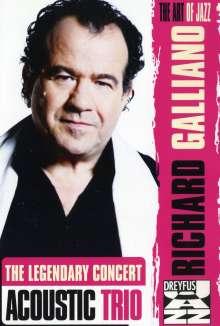 Richard Galliano (geb. 1950): Acoustic Trio - Live In Marciac, DVD