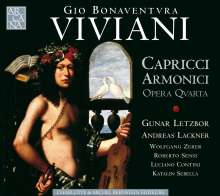 Giovanni Buonaventura Viviani (1638-1692): Capricci Armonici op.4, CD