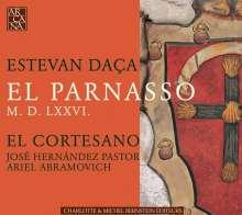 Esteban Daca (1537-1575): Villancicos,Villanescas,Sonetos, CD