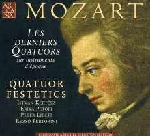 Wolfgang Amadeus Mozart (1756-1791): Streichquartette Nr.21-23, 2 CDs