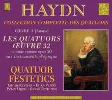 "Joseph Haydn (1732-1809): Streichquartette Nr.31-36 (op.20 Nr.1-6) ""Sonnenquartette"", 2 CDs"