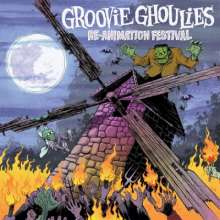 Groovie Ghoulies: Re-Animation Festival (White Marbled Vinyl), LP