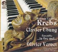 Johann Ludwig Krebs (1713-1780): Klavierübung (1752/1753), CD