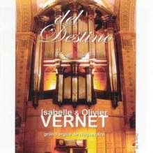 Olivier & Isabelle Vernet - Del Destino, CD