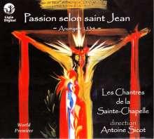 Passion selon saint Jean, CD