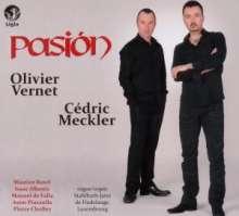 Olivier Vernet & Cedric Meckler - Pasion, CD