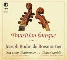 "Joseph Bodin de Boismortier (1689-1755): Suiten & Sonaten ""Transition baroque"", CD"