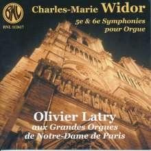 Charles-Marie Widor (1844-1937): Orgelsymphonien Nr.5 & 6, CD