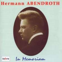 Hermann Abendroth - In Memoriam, 2 CDs