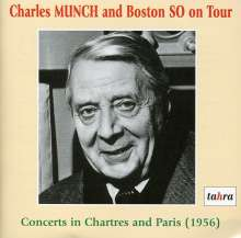 Charles Munch and Boston Symphony Orchestra on Tour, 2 CDs
