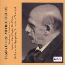 Inedits Dimitri Mitropoulos, CD