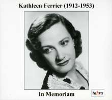 Kathleen Ferrier - In Memoriam, CD