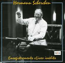 """Hermann Scherchen - Enregistrements """"Live"""" inedits, 2 CDs"""