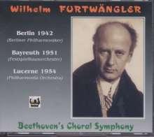 Ludwig van Beethoven (1770-1827): Symphonie Nr.9 (3 Einspielungen), 4 CDs