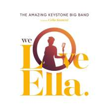 The Amazing Keystone Big Band: We Love Ella, CD