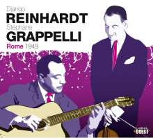 Django Reinhardt & Stephane Grappelli: Rome 1949, 3 CDs