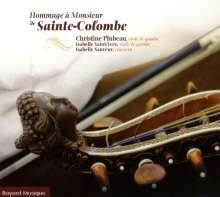 Sieur de Sainte-Colombe (1640-1700): Concerts Nr. 3,12,30,44 für 2 Gamben, CD