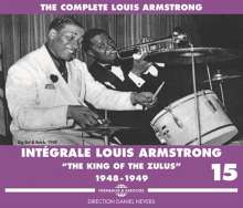 Louis Armstrong (1901-1971): Intégrale Louis Armstrong Vol.15: The King Of The Zulus, 3 CDs
