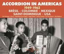 Accordion In Americas 1949 - 1962 (Brésil - Colombie - Mexique - Saint-Domingue - USA), 3 CDs
