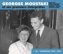 Georges Moustaki: Intégrale 1955 - 1962, 3 CDs