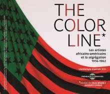 The Color Line: Les Artistes Africains-Am,ricains, 3 CDs
